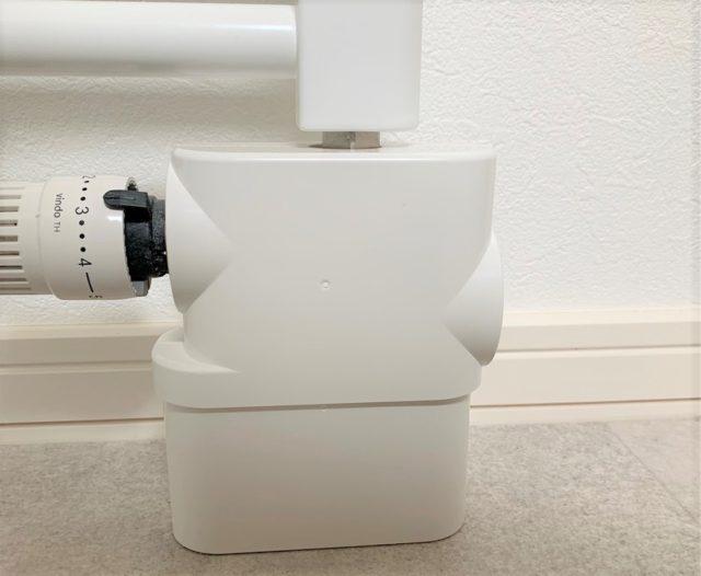 パネルヒーター配管カバー