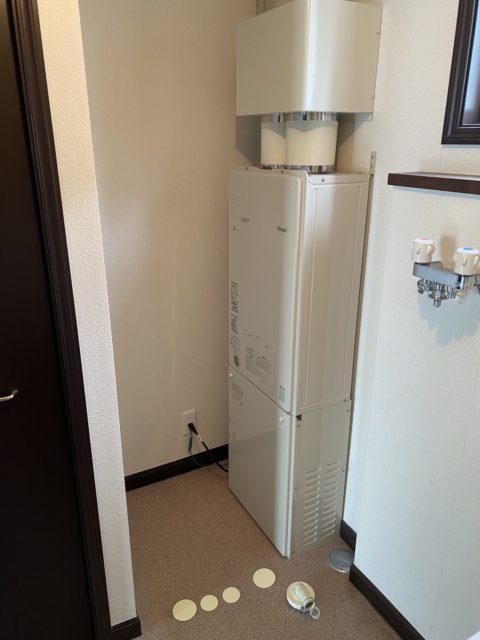 電気温水器からエコジョーズ